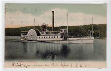 STEAMER MOUNT WASHINGTON: New Hampshire postcard (C20733)