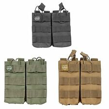 Valken Paintball Airsoft MOLLE Double Mag Magazine Vest Pouch Black Olive Tan