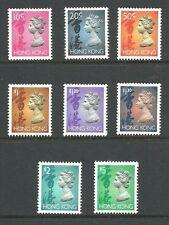 Album Treasures Hong Kong Scott # 630//651B  10c-$5 Elizabeth Mint NH