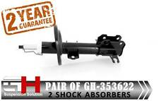 2 NEW FRONT SHOCK ABSORBERS FOR VAUXHALL VECTRA C / SIGNUM / 09.2004-> // 353622