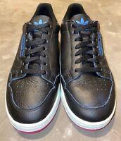 Adidas Continental 80 OG. Black, Pink, White-Teal. Women Sz 10, Men Sz 8.5