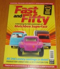 MATCHBOX SUPER FAST SPEED KINGS - FAST & FIFTY VALUES 2019 'BRAND NEW' MAGAZINE