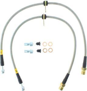StopTech For 10 - 15 Chevrolet Camaro Brake Hydraulic Hose Rear - 950.62509