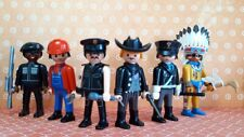 PLAYMOBIL VILLAGE PEOPLE SAN FRANCISCO IN THE NAVY DANCE DISCO GAY LEATHER RARE