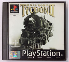 RAILROAD TYCOON II  Sony Playstation Ps1 Psx Psone PAL Manuale Italiano