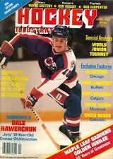 1982 Hockey Illustrated Magazine: Dale Hawerchuk Winnipeg Jets