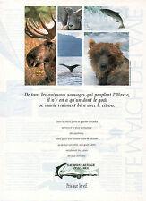 Publicité 1991  SAUMON SAUVAGE D'ALASKA