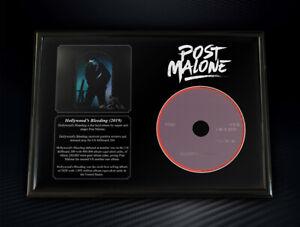 Framed Post Malone - Hollywoods Bleeding Memorabilia