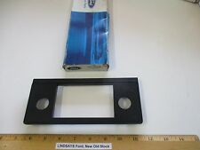 "FORD 1983 ESCORT & LYNX ""BEZEL"" (RADIO CONTROL) INSTRUMENT CONTROL ""PANEL"" BLACK"