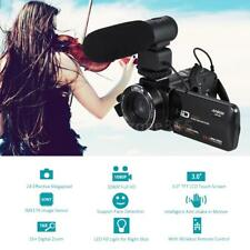 Andoer HDV-Z20 1080P HD 24MP WiFi Digital Video Camera Camcorder+Microphone W6G7