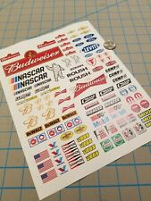 New RC Scale Racing Decals No.4 for TAMIYA HPI LOSI KYOSHO 1/8 1/10 1/12