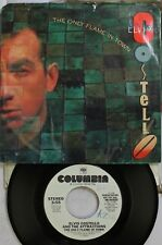 Rock Picture Sleeve Promo 45 Elvis Costello - The Only Flame In Town / The Only