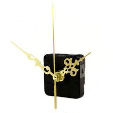Silent Quartz DIY Wall Clock Movement Mechanism Repair Part Tool Kit Gold Color