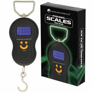 Digital Fishing Scales Luggage Hanging Hook Electronic Carp Weighing Scales 40kg
