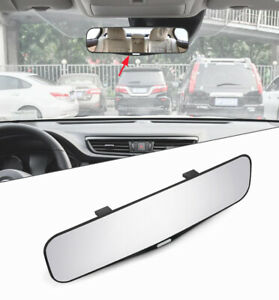 Car Front Blind Spot Curved Glass Mirror Rear Ex View Broader Field Accessories