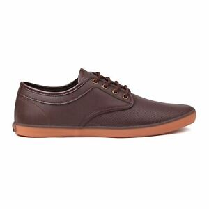 Soviet Mens Bux Vamp Lace Up Casual Shoes Stitched Detailing Perforated