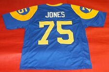 DAVID DEACON JONES CUSTOM LOS ANGELES RAMS THROWBACK JERSEY FEARSOME FOURSOME LY
