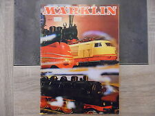 Catalogue MARKLIN - 1971 - 72 pages