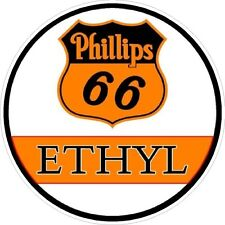Phillips 66 Ethyl Vintage Classic Window Decal NHRA