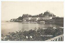 POSTCARD-GREECE-CORFOU-RP. The Citadelle.