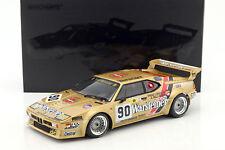 MINICHAMPS BMW M1 Group B #90 24 H LeMans 1983 1:12 Large Car*Brand New!