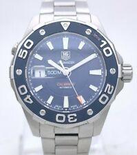 Tag Heuer Aquaracer Calibre 5 WAJ2112 Automatic Steel 500m Diver 43mm Men Watch