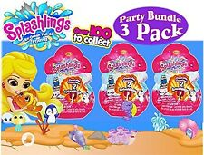 Shopkins Splashlings An Ocean Full of Friends ~3 Blinds Bags of 2 (6) Wave 1~