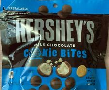 NEW HERSHEY'S MILK CHOCOLATE COOKIE BITES 7.5 OZ (212g) RESEALABLE BAG BUY ITNOW
