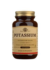 Solgar Potassium - 100 Tablets