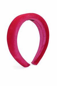 Morgan & Taylor Leslie Headband in Hot Pink