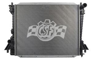 Radiator-1 Row Plastic Tank Aluminum Core CSF 3422 fits 05-14 Ford Mustang
