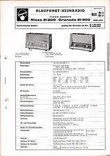 Service Manual-instrucciones para Blaupunkt Niza 21200, Granada 21300