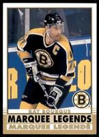 2020-21 UD O-Pee-Chee Retro Marquee Legends #537 Ray Bourque - Boston Bruins