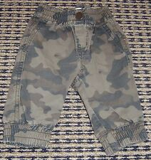 COUNTRY ROAD BABY BOYS CAMOFLAUGE PANTS SZ 3 - 6 MONTHS