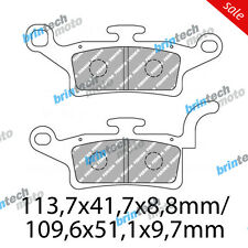 2013 For YAMAHA YW125 (Bee Wee) D FERODO Front Brake Pads - 74