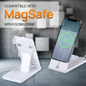Magnetic Wireless Magsafe Charger Holder Stand Mount Charge Fr iPhone 13 Pro Max