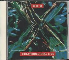 """THE X - RARO CD ITALY ONLY 1994 """" XTRATERRESTRIAL LIVE """""""