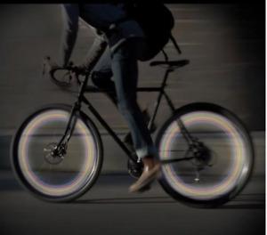 LED Bike Lights for All Bicycles  Wheel LED lights Plastic Free