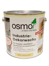 Osmo Industrie-Dekorwachs 3063 Seidenmatt, 2,5 Liter Gebinde