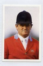 (Jh357-100) RARE,Trade Card Booster of Harvey Smith ,Equestrian  1986 MINT