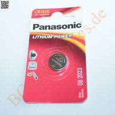 2 x CR1620 Lithium Battery cell power CR1620L/1BP Panasonic Knopfzelle 2pcs