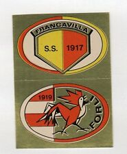 figurina CALCIO FLASH 1981 SCUDETTO FRANCAVILLA - FORLI