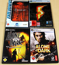 4 PC juegos colección residente Evil 4 & 5 Alone in the Dark Inferno New Nightmare