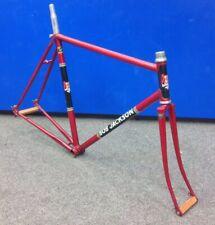 """Vintage Bob Jackson Reynolds Steel Road Bike 22.5"""" Frameset With Forks"""