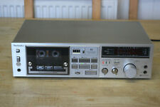 Technics RS-M230 Vintage Stereo Cassette Deck Hi-Fi Separate Tape Player/Recorde