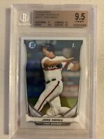 2014 Bowman Chrome Prospects #BCP17 Jose Abreu RC Rookie BGS 9.5