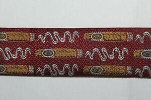 LEE ALLISON Men's Suspenders Braces Red w/ Cigars Smoking Made in England