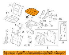 Left Rear Honda Genuine 82531-S9V-A02ZB Seat Cushion Trim Cover