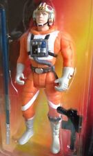 1995 Kenner Star Wars Long Saber Luke Skywalker X-Wing Figure Mint In Pack .01
