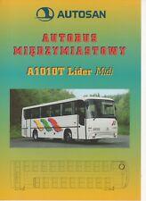 Autosan A 1010 T Lider Midi bus (made in Poland) _1999-Prospekt / Brochure